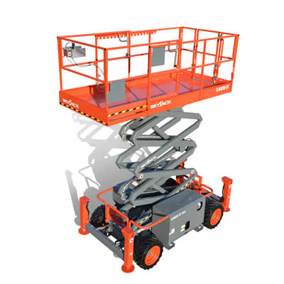 Skyjack SJ6826RT Cherry Picker