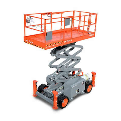 Skyjack SJ6832RT Cherry Picker