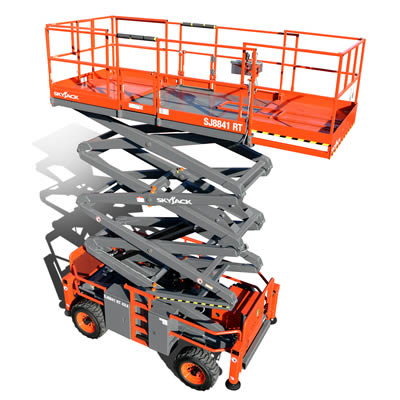 Skyjack SJ8841 Cherry Picker